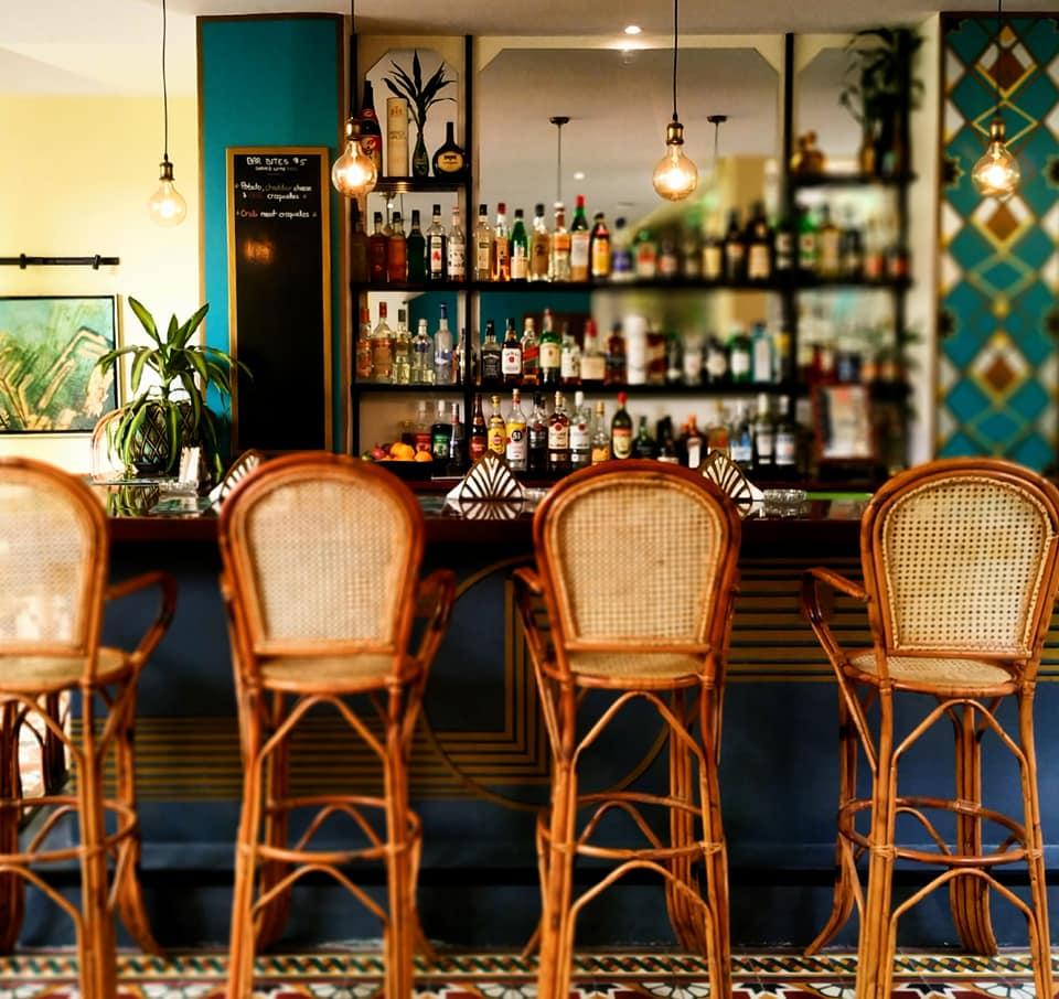 Hotel Old Cinema Kampot bar