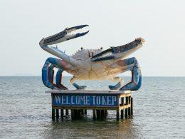 Kep Cambodia crab